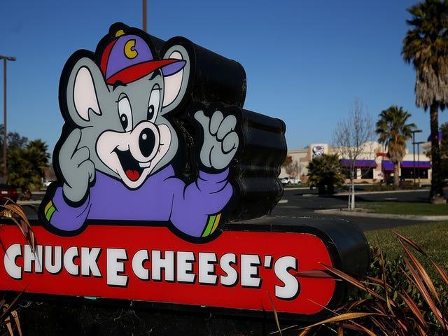 Czy Biali Ludzie Idź do Chuck E. Cheese's?