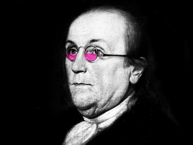 A Salute to Benjamin Franklin, the Original Tiny Glasses-Wearer