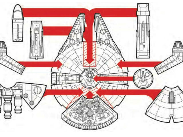 The Design of the Millennium Falcon Is Fully Customizable