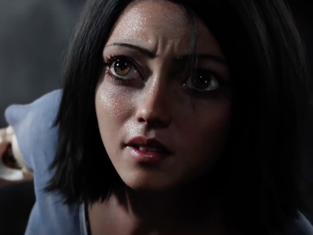 The Battle Angel Director Tries and Fails to Justify Alita's Giant, Creepy-Ass Eyes