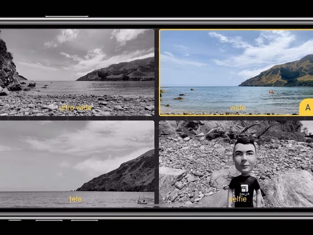 iPhone-användare kan nu skjuta samtidigt med båda kamerorna, Android-användare skrattrar artigt
