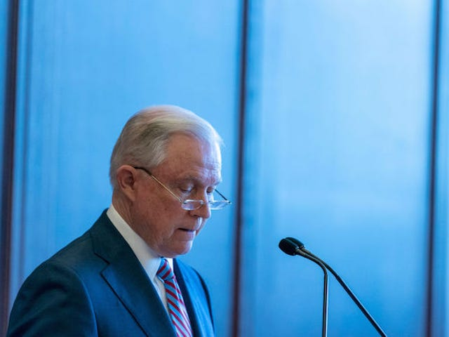 Jeff Sessions Warns Law Enforcement About Children and Other Dangers