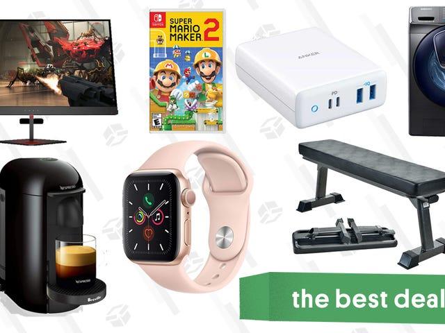 As melhores ofertas de sexta-feira: venda de flash HP 72 horas, Apple Watch Series 5, Breville Espresso Maker, carregador Anker 100W, banco de exercícios e muito mais