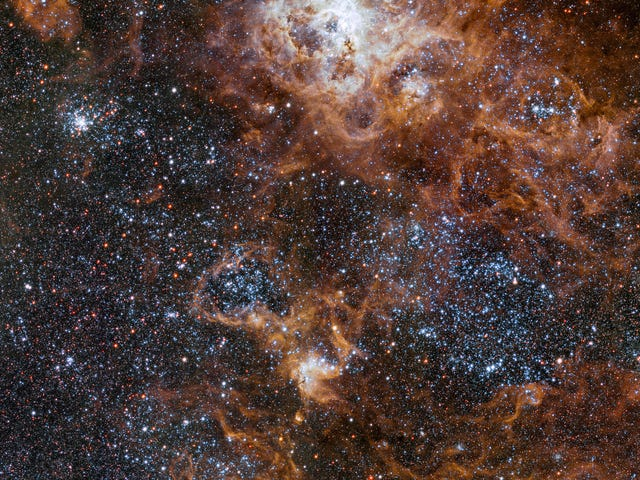 Nowy widok mgławicy Tarantula to zdjęcie kosmosu, którego wszyscy potrzebujemy dzisiaj
