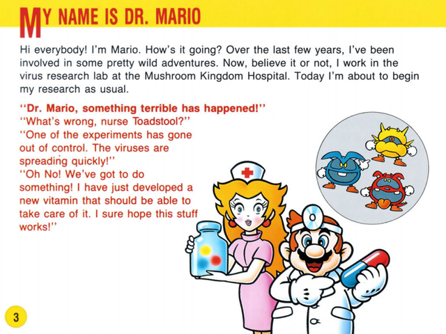 Warped Pipes: When Did Mario Become Dr. Mario?