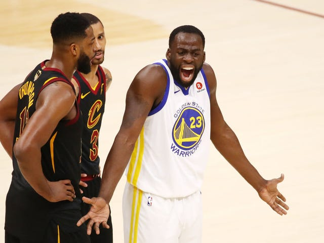"Report: Tristan Thompson Hit Draymond Green With A ""Face Mush"" At LeBron James's Party"