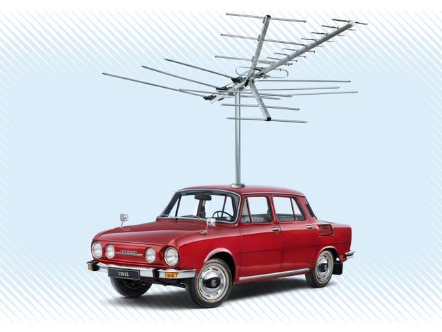 Mengapa Kereta Tidak Memiliki Antena Panjang Lagi