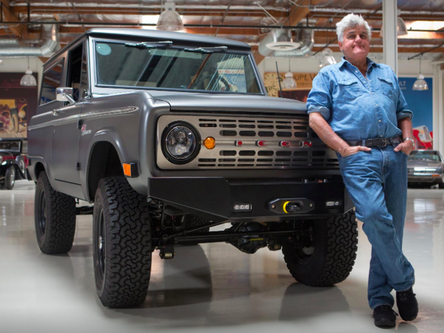 Even Jay Leno Thinks Gasoline Cars' Days Are Numbered