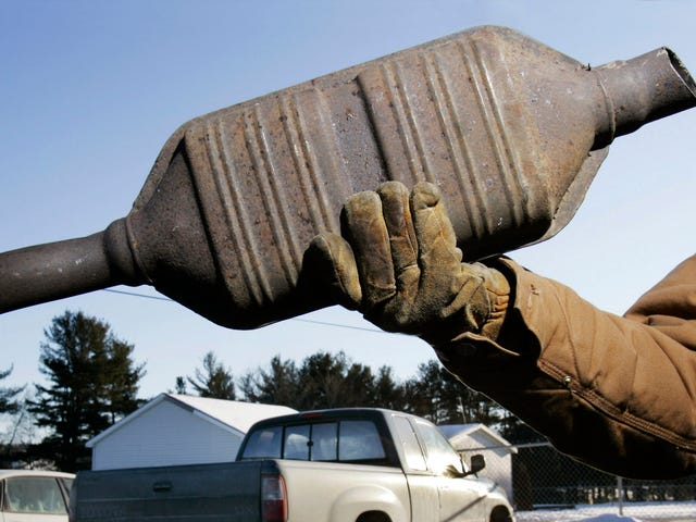 Demand From China Is Exploding The Price Of The Palladium In Your Catalytic Converter