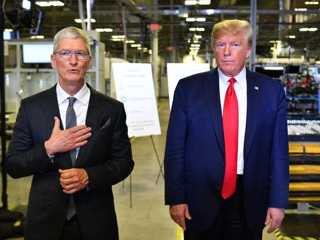 ¿Por qué Apple acaba de organizar un evento de campaña para Trump en Texas?