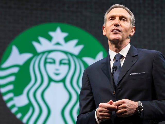 Starbucks Barista'ya Howard Schultz Hakkında Sorma