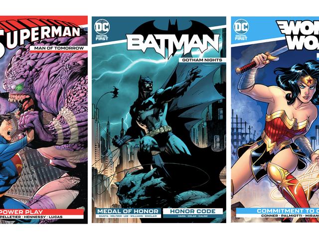 DC: s senaste ansträngning för att hålla serier intressant levande är uppgraderade digitala titlar