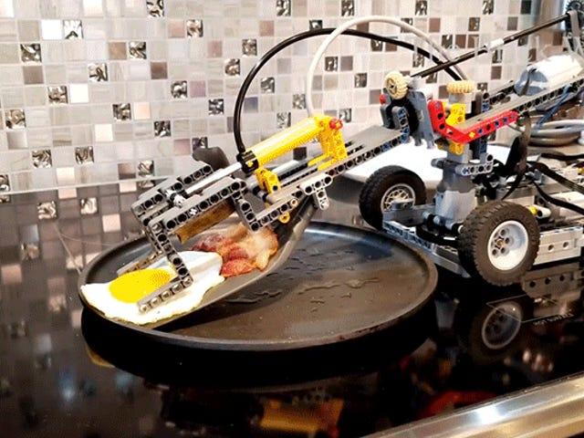 Maghintay, Ang Aking Mga Lego na Mga Laruan Maaaring Gumagawa Ako ng Almusal Lahat ng mga Taon?
