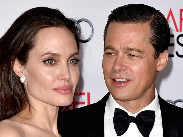 Angelina Jolie og Brad Pitt's Skilsmisse er en Master Class i PR Spins