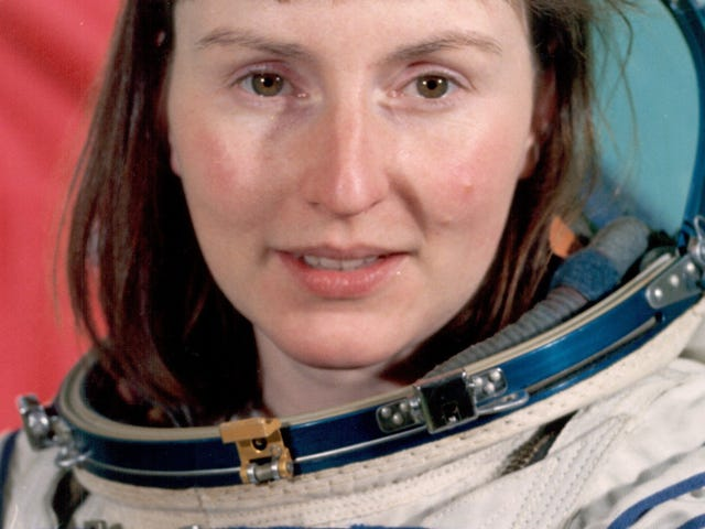 Britain's first lady of space travel