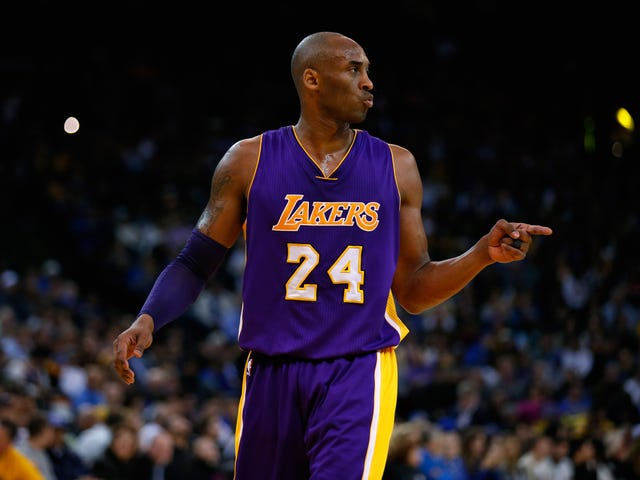 Kobe Bryant Ramps Up His Michael Jordan Cosplay With A New Trademark