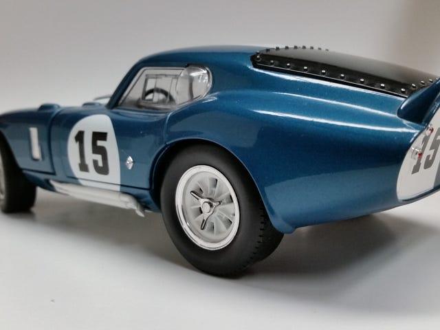 My new Shelby Cobra Daytona Coupe!