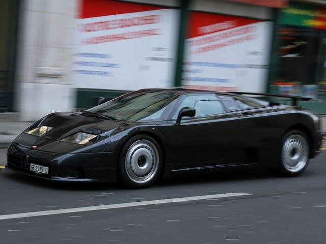 Ngôi sao đích thực của Geneva là chiếc Bugatti 20 tuổi này