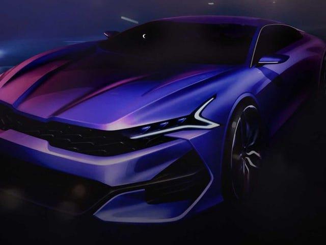 It's The Kia Optima's Turn To Get A Hot Sedan Makeover
