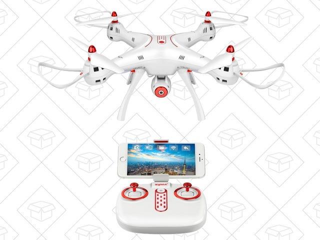 用无线网络装备的无人机带给100美元以下的天空