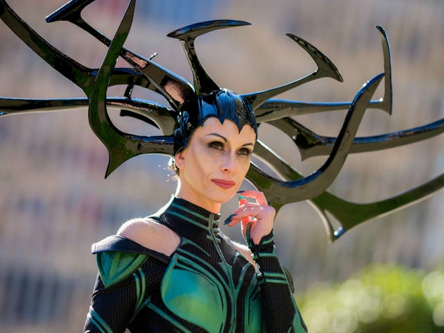 This Cosplayer Perfectly Embodies the Glorious Hela, Giant Headdress and All