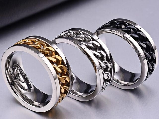 FREE TITANIUM STEEL MEN & WOMEN FINGER RING