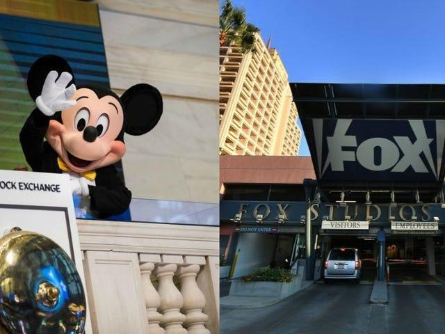 Se on virallinen: Disney ostaa 21st Century Fox 52,4 miljardin dollarin arvosta