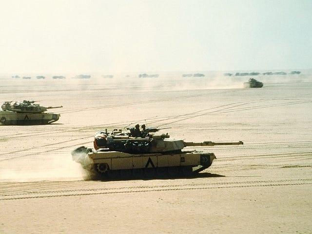 Nothing Handles Like a 911, Nothing Handles Like an Abrams Tank