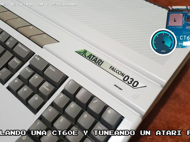Instalando una CT60e y tuneando un Atari Falcon