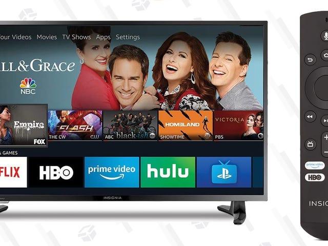 Este televisor de $180 con Fire TV es perfecta para tu dormitorio