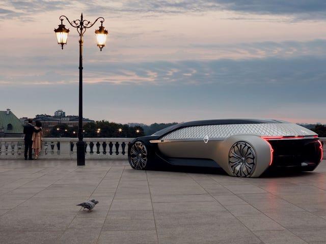 Renault's New Luxury Robo-Vehicle Concept Is Gorgeous Vaporware