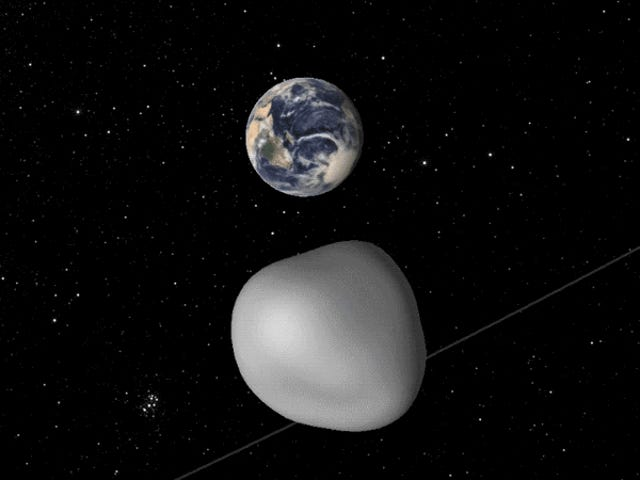 Close Encounter With Asteroid Will Test Earth's Early Warning System