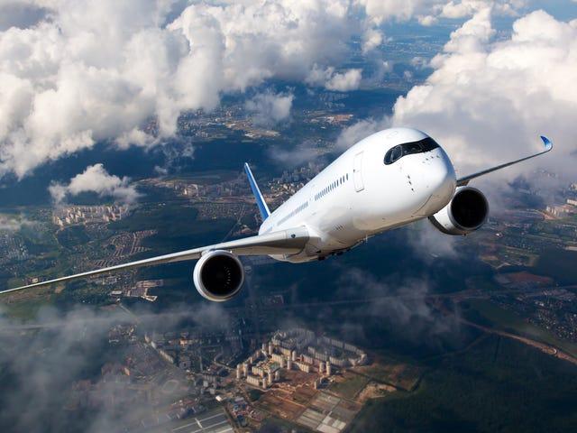 Last ned og bruk alltid flyselskapets app når du reiser