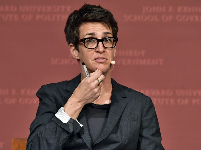 Rachel Maddow announces she has a recurring part on The CW's Batwoman