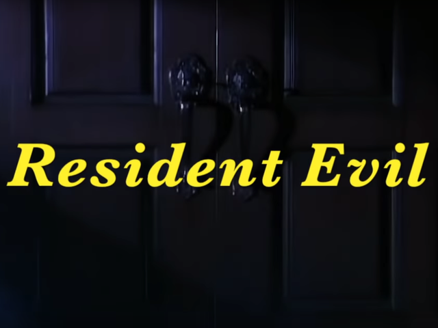 L'introduction originale de <i>Resident Evil</i> devenue une sitcom des années 80