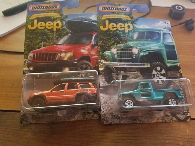Got The Other 2 Jeeps Today