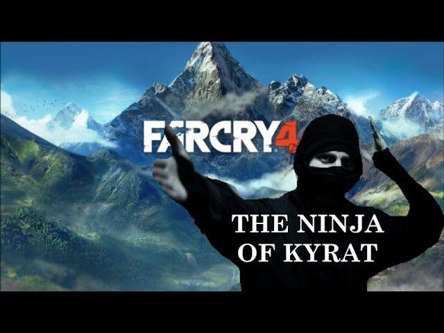 닌자 <i>Far Cry 4</i> Ninja <i>Far Cry 4</i> 명이 2 분 안에 24 명의 숙녀를 죽인다.