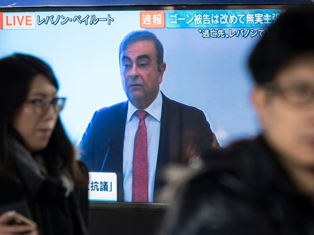 Carlos Ghosn Missed The Good Shit