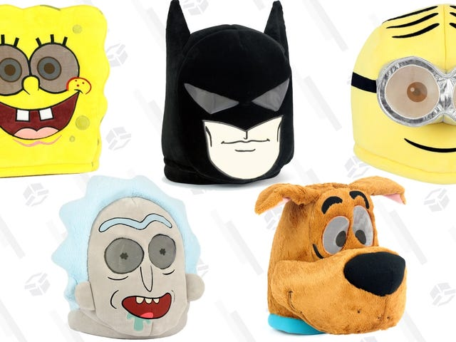 Terrify Friends, Family, and Trick or Treaters With These $15 Plush Masks