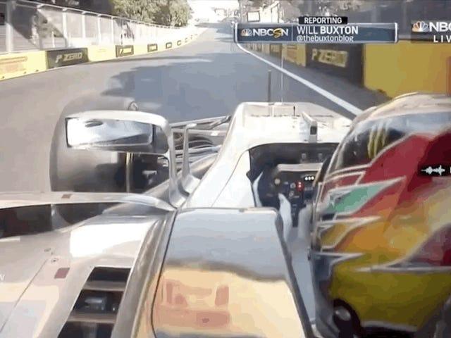 F1-ajurit todennäköisemmin lyödä toisiaan, jos he ovat molemmat kilpailijat: opiskele