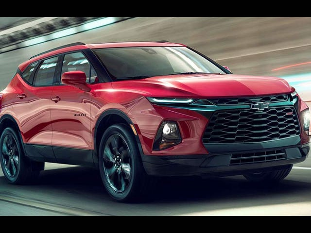 The 2019 Chevy Blazer starts at $30,000