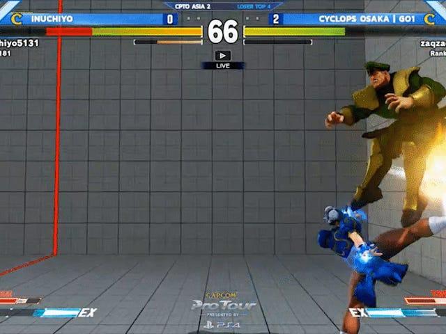 Pemain Chun-Li Menghukum Bison Dengan Combo 38-Hit