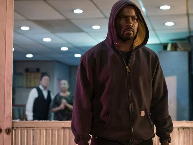 Luke Cage worships the black body in its strength, power, and vulnerability
