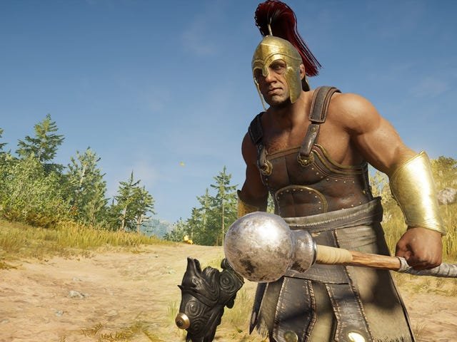 Assassin's Creed Odyssey's First Epic Mercenary Isn't Very Epic