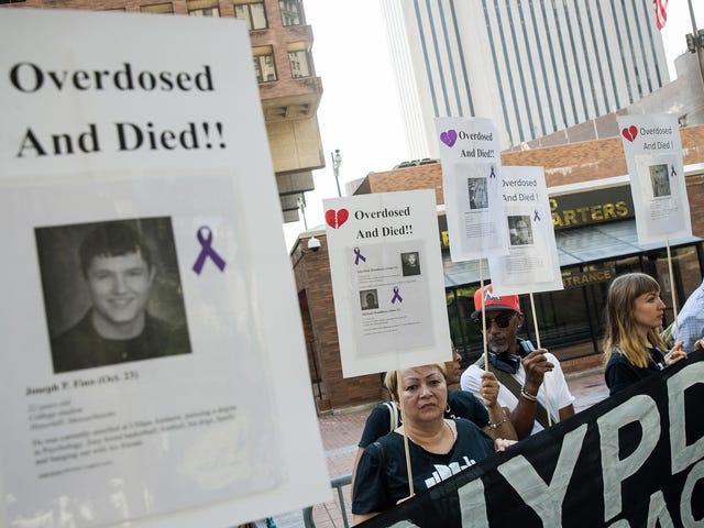 Kryzys opioidowy ponownie skrócił amerykańską długość życia