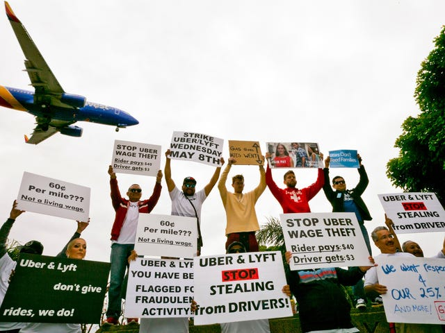 Pemandu Rideshare dari Sekitar Dunia Akan Datang Bersama, Dengan Bantuan Dari Seorang Penerima Familiar