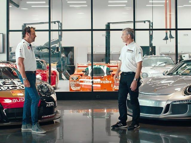 Watch Two Porsche Experts Geek Out Over Race Tech