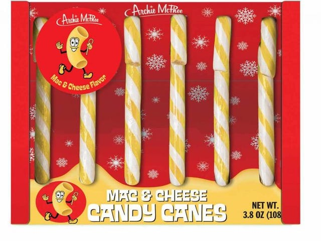 Mac & Τυρί Candy Canes