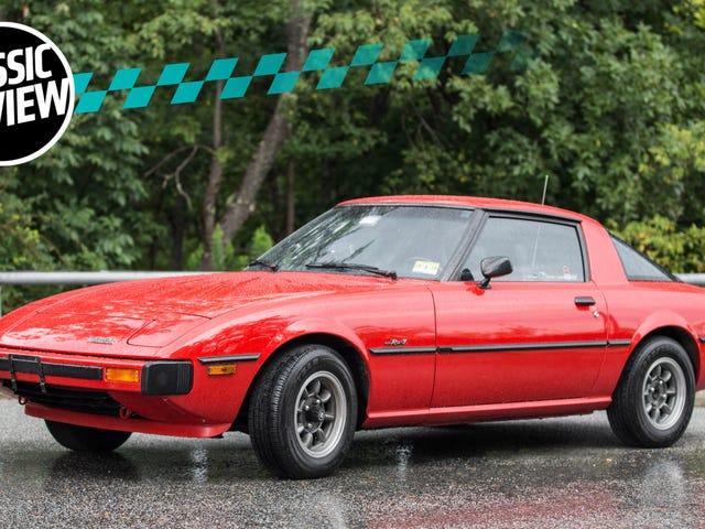 The Original Mazda RX-7 Drives Like a Humming, Thrumming, Living Animal