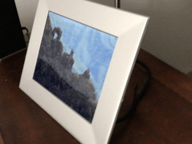 Nixplay Iris to cyfrowa ramka na zdjęcia, którą kupisz dla siebie, nie tylko dla swoich dziadków